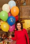 Женя Тополь на детском празднике